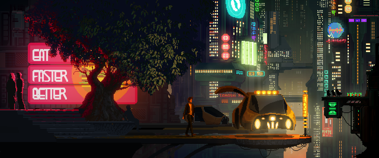 The Last Night taxi screenshot